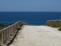 Portuguese Pathway Royalty Free Stock Images