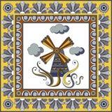 Portuguese pattern 3 Royalty Free Stock Photo