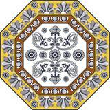 Portuguese pattern 30 Royalty Free Stock Images