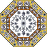 Portuguese pattern 28 Royalty Free Stock Photography