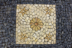 Portuguese Pavement Royalty Free Stock Photography