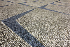 Portuguese Pavement Royalty Free Stock Photo