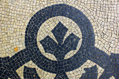 Portuguese Pavement Stock Image