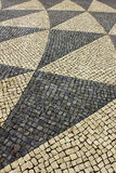 Portuguese pavement Royalty Free Stock Images