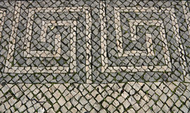 Portuguese  pavement Stock Photo