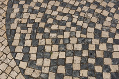 Portuguese pavement Royalty Free Stock Image