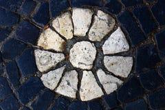Portuguese pavement, Lisbon, Portugal Stock Photo