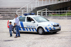 Portuguese Police Royalty Free Stock Photography