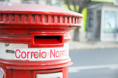 Portuguese post box Stock Images