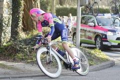 Portuguese rider Rui Costa cycling Stock Photography