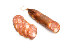 Portuguese sausage Royalty Free Stock Images