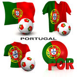 Portuguese Soccer Royalty Free Stock Images
