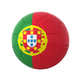 Portuguese soccer. Royalty Free Stock Images