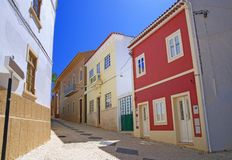 Portuguese Street Royalty Free Stock Images
