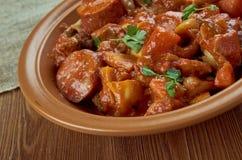 Portuguese-style  stew Stock Photos