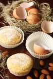Portuguese Sugar Almond Cakes Stock Photography