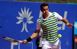 Portuguese tennis player Federico Gil Stock Photos