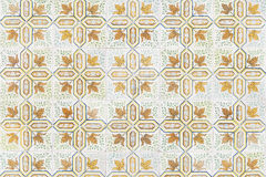 Portuguese tile house wall Royalty Free Stock Image