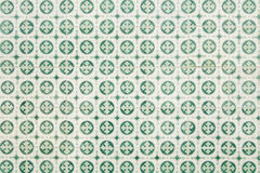 Portuguese tile house wall. Background texture close up Stock Image