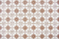 Portuguese tile house wall Royalty Free Stock Images
