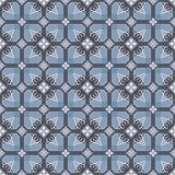 Portuguese tile pattern vector seamless with old ornaments. Mexican talavera, italian sicily, majolica, spanish ceramic. Perfect for fabrics, promotional vector illustration