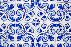 Portuguese tiles azulejos Royalty Free Stock Photo