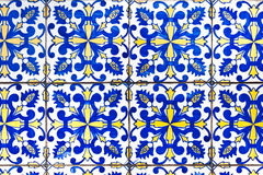 Portuguese tiles azulejos Stock Photos