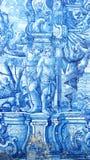 Portuguese Tiles, Cathedral of Porto, Porto, Portugal Stock Images