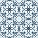 Portuguese tiles pattern vector illustration