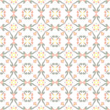 Portuguese tiles pattern. Vintage background - Victorian ceramic tile in vector Stock Photo