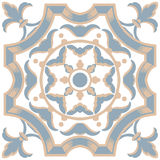 Portuguese tiles seamless pattern. Vintage background - Victoria Stock Image
