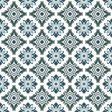 Portuguese tiles seamless pattern. Vintage background - Victoria Royalty Free Stock Photography