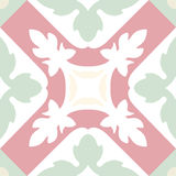 Portuguese tiles seamless pattern. Vintage background - Victoria Stock Photos
