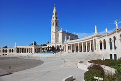 The Portuguese town of Fatima stock images