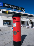 Portuguese  traditional mail box Royalty Free Stock Photography