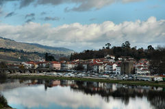 Portuguese village Stock Photography