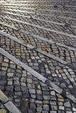 Portuguese Walkway Royalty Free Stock Image