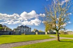 Portumna城堡和庭院 免版税库存照片
