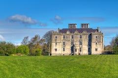Portumna城堡在爱尔兰 免版税库存照片