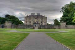 Portumna Castle. In summer in Ireland stock images