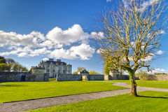 Portumna Castle and gardens Royalty Free Stock Photo