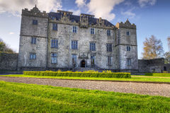 Portumna Schloss in Co. Galway Stockfotografie
