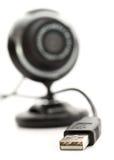 portusb-webcam Fotografering för Bildbyråer