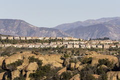 Portvaktranch - Los Angeles, Kalifornien Arkivbild