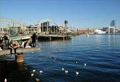 PortVell Jachthafen, Barcelona stockfotografie