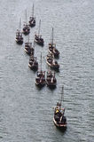 Portweinschiffe stockfotografie