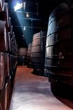 In the Portwine storage Stock Photo