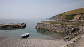 Portwrinkle harbour Whitsand Bay near Looe Cornwall Royalty Free Stock Image