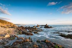 Portwrinkle i Cornwall Fotografering för Bildbyråer