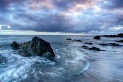 Portwrinkle w Cornwall zdjęcia stock